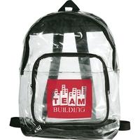 Clear See-Thru Backpack
