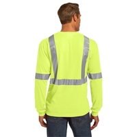 CornerStone ANSI 107 Class 2 Long Sleeve Safety T-Shirt.