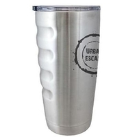 20 oz. Stainless Travel Mug with Grip