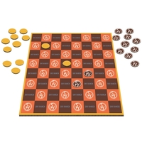 Table Top Checkers Game - 12""