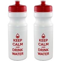 24 oz. White Bike/Fitness Bottle