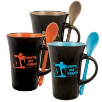 Latte Spoon 12 oz. Mug