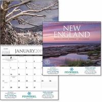 New England 2019 Calendar