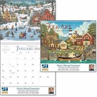 Folk Art 2019 Calendar