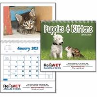 Puppies & Kittens Pocket 2019 Calendar