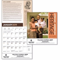 African-American Heritage - Family 2019 Calendar