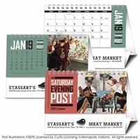 The Saturday Evening Post 2019 Desk Calendar