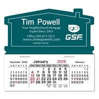 House Shaped Magnetic Mega Calendar