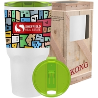 26 oz Full Color Kong Vacuum Insulated Tumbler