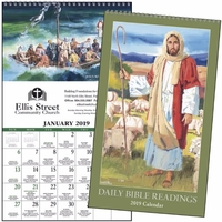 Daily Bible Readings - Protestant 2019 Calendar