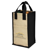 Four-Bottle Wine Tote
