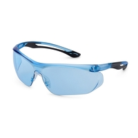Pacific blue frame, pacific blue lens, Paralax safety glass