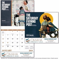 Stapled The Saturday Evening Post 2019 Appointment Calendar