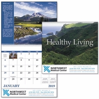 Spiral Healthy Living Inspirational Appointment Calendar