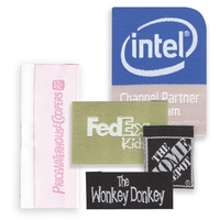 Up to 1 Square Inch Woven Labels
