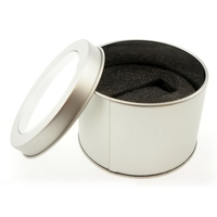 Round Metal Tin for USB's