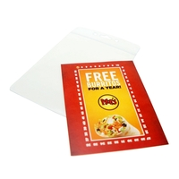 "2 3/4""x3 3/4"" Pouch Insert Cards (Style 333)"