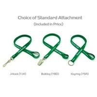 """1/2"""" Silkscreened Tubular Lanyard w/ a Key Ring"""
