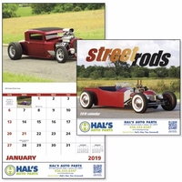 Stapled Street Rods Vehicle 2019 Appointment Calendar