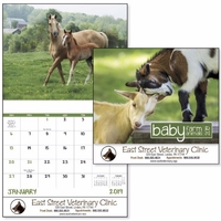 Stapled Baby Farm Animals Lifefstyle Appointment Calendar