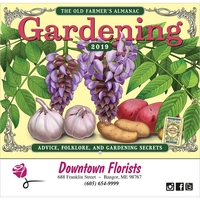 Old Farmer's Almanac® Gardening Calendar - Stapled