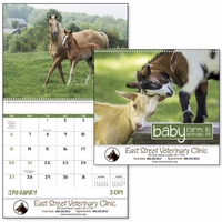 Spiral Baby Farm Animals Lifestyle 2019 Appointment Calendar
