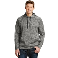 Sport-Tek PosiCharge Electric Heather Fleece Hooded Pullo...