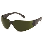 Black lens, black frame, Starlite IR welding safety glasses