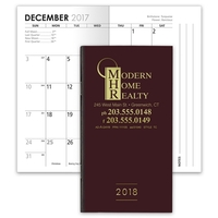 Classic 14-Month Planner with Linen-Finish Cover