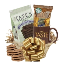 Coffee and Cookie Basket with Mug