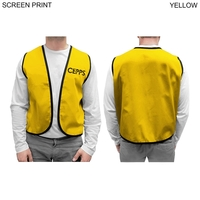 Twill Supermarket Vest, Printed or Blank