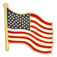 Patriotic - American Flag Lapel Pin