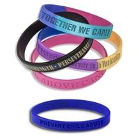 Custom Silicone Bracelet - Debossed Wristband