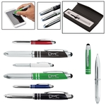 Executive 3 in 1 Metal Pen/Stylus With LED