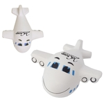 Smiley Airplane Stress Reliever
