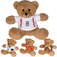 "7"" GameTime® Plush Bear"