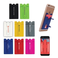 Silicone Smartphone Wallet & Stand