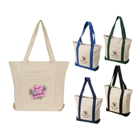 HEAVY DUTY CANVAS BOAT TOTE BAG