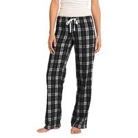 District Women's Flannel Plaid Pant.