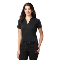 Port Authority Ladies Silk Touch Performance Colorblock S...