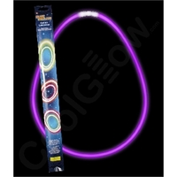 22 Inch Retail Packaged Glow Necklaces
