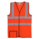 Dual Stripe S/M Orange Mesh Safety Vest