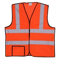 Orange Mesh Break-Away Safety Vest