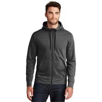 New Era Tri-Blend Fleece Full-Zip Hoodie