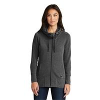 New Era Ladies Tri-Blend Fleece Full-Zip Hoodie.