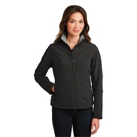 Port Authority Ladies Glacier Soft Shell Jacket.