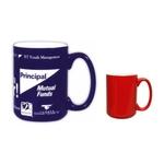 15oz El Grande Red-White Mug, spot color
