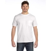 Anvil® Adult Midweight Pocket T-Shirt