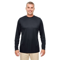 UltraClub® Men's Cool & Dry Performance Long-Sleeve Top