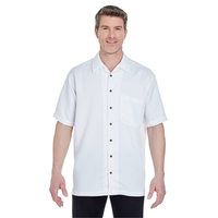 UltraClub® Men's Cabana Breeze Camp Shirt